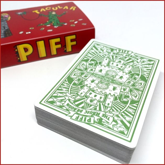 Piff the Magic Dragon PLAYING CARDS!