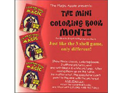 The Mini Coloring Book Monte - an Idea by Brent Arthur James Geris