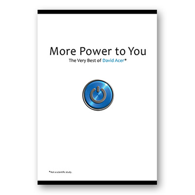 More Power to You: The Very Best of David Acer Book
