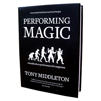 Performing Magic Book by Tony Middleton