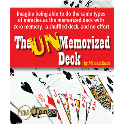 Unmemorized Deck by Marcelo Insúa