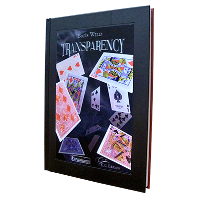 Transparency, The Boris Wild Marked Deck Book by Boris Wild
