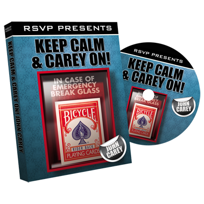 Keep Calm and Carry On with John Carey