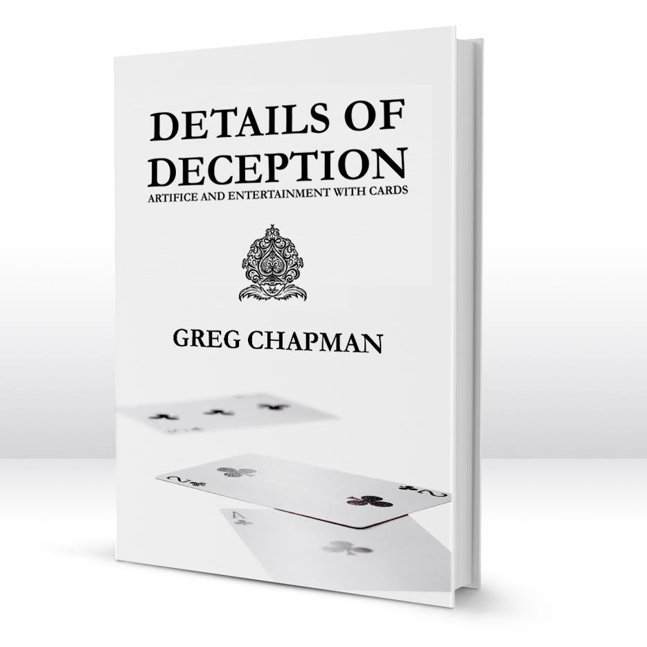 Details of Deception Book by Greg Chapman