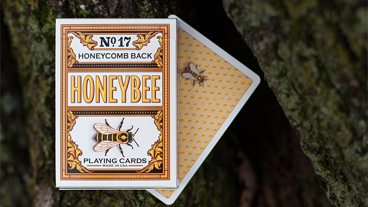 Honeybee V2 Playing Cards (Yellow)