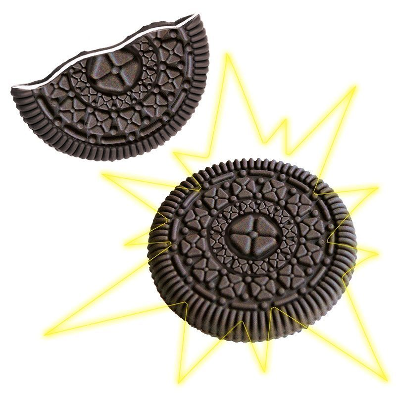 Bite Out Cookie (Oreo, Joe Joes)