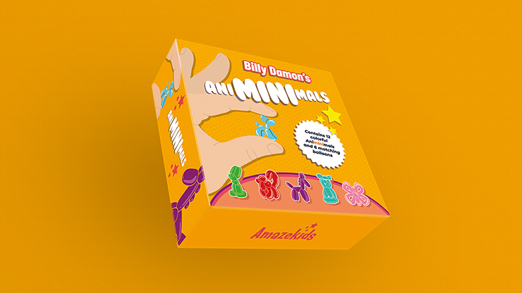 Animinimals (Gimmicks and Online Instructions) by Billy Damon