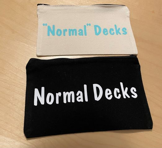 "Normal Decks ""Normal Decks"" Pouch by Brianna Makes"