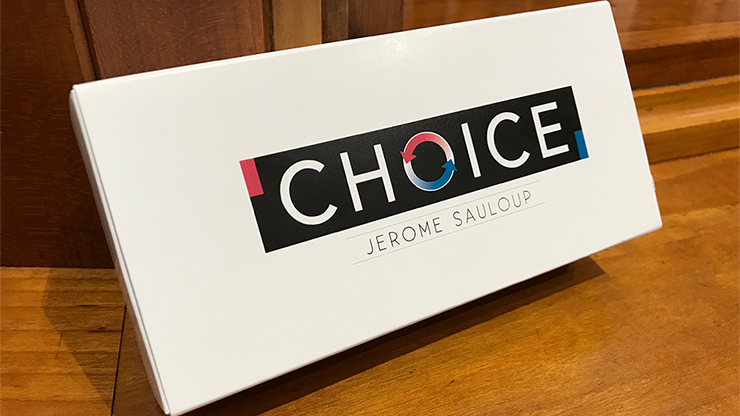 Choice (Gimmicks and Online Instructions) by Jerome Sauloup
