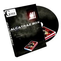 Alcatraz Box (Gimmick and DVD) by Mickael Chatelain