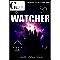 Watcher (DVD and Gimmick) by Mickael Chatelain