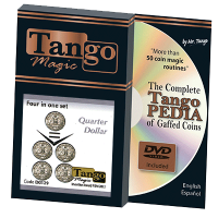 Four in 1 COIN BY TANGO MAGIC