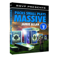 Packs Small Plays Massive Vol. 2 DVD by Jamie Allen and RSVP Magic