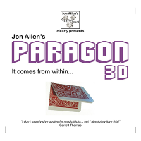 Paragon 3D (DVD and Gimmick) by Jon Allen -