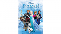 Torn and Restored FROZEN Poster (Paper Restore)