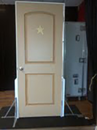 The Door Closed trick available for rental at The Magic Apple
