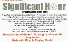 Significant Hour by Brent Arthur James Geris