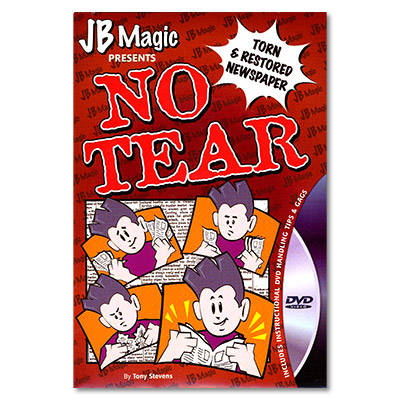 No Tear Newspaper by Mark Mason now with a DVD