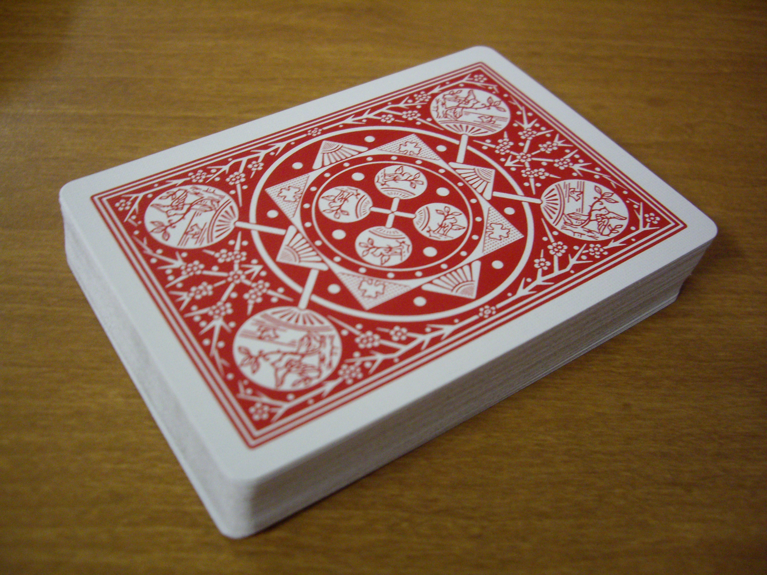 Tally Ho Fan Backed Playing Cards