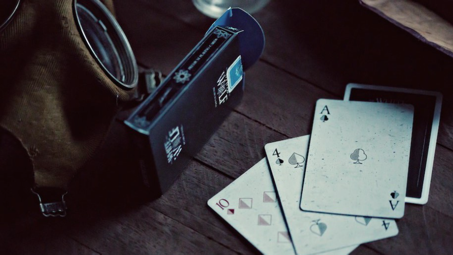 White Wolf Playing Cards by Ellusionist
