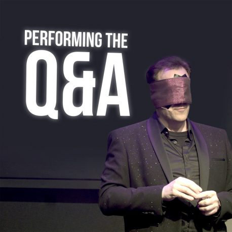 Performing the Q&A by Gerry McCambridge