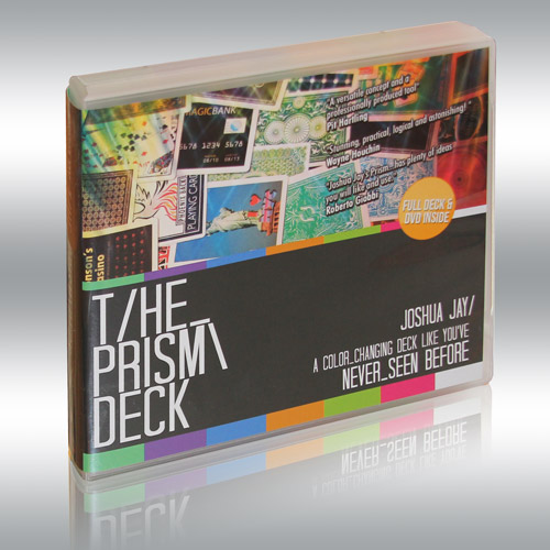 Prism Deck and DVD by Joshua Jay