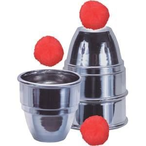 Cups and Balls Set Aluminum