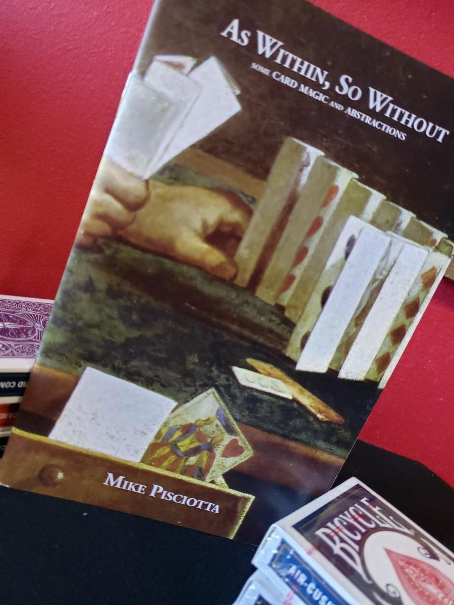 As Within, So Without Booklet by Mike Pisciotta