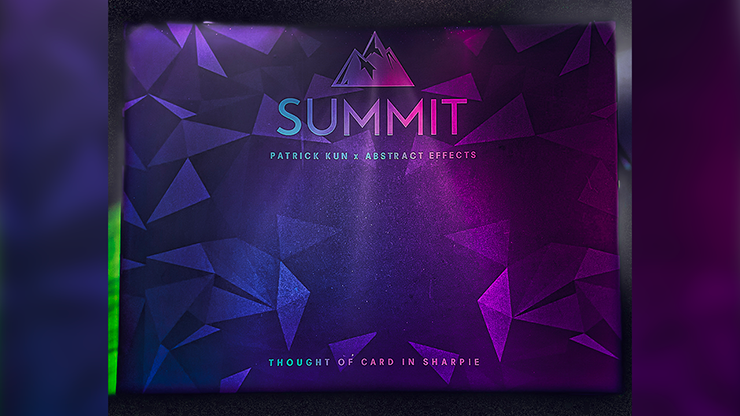 Summit (Gimmicks and Online Instructions) by Patrick Kun