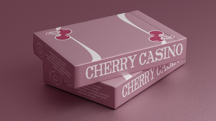 Cherry Casino Flamingo Quartz (Pink) Playing Cards