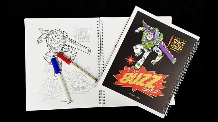 Toy Story 4 Coloring Book of Magic