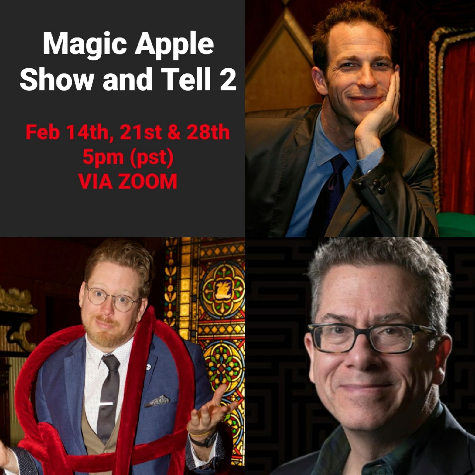 Magic Apple Show and Tell 2 via Zoom!!