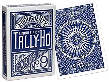Cheek to Cheek Triumph Deck - Tally Ho Blue Circle
