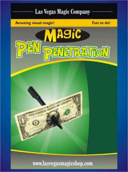 Pen Penetration Perfect Penetration Thru Bill