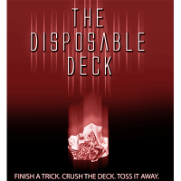 Disposable Deck 2.0 DVD and Gimmicks by David Regal