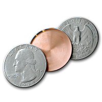 Expanded Quarter Shell Heads or Tails by Johnson