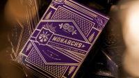 Purple Monarch Playing Cards by Theory 11