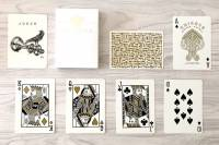 White Knights V2. Playing Cards by Ellusionist
